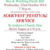 Harvest Festival 2014