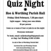Quiz Night February 23rd