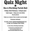 Quiz Night February 23rd