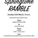 March 2018 Ramble