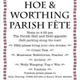 Hoe & Worthing Fete July 2018