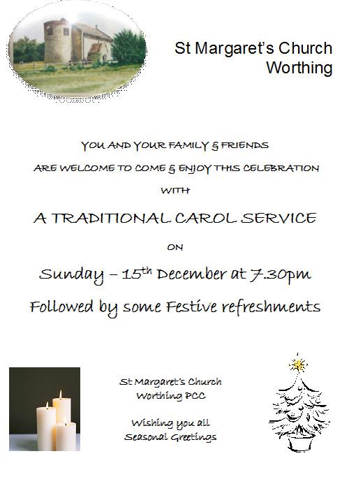 Carol Service Dec 15 2013