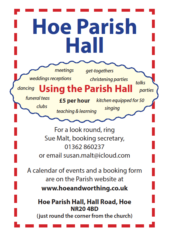 using-the-parish-hall