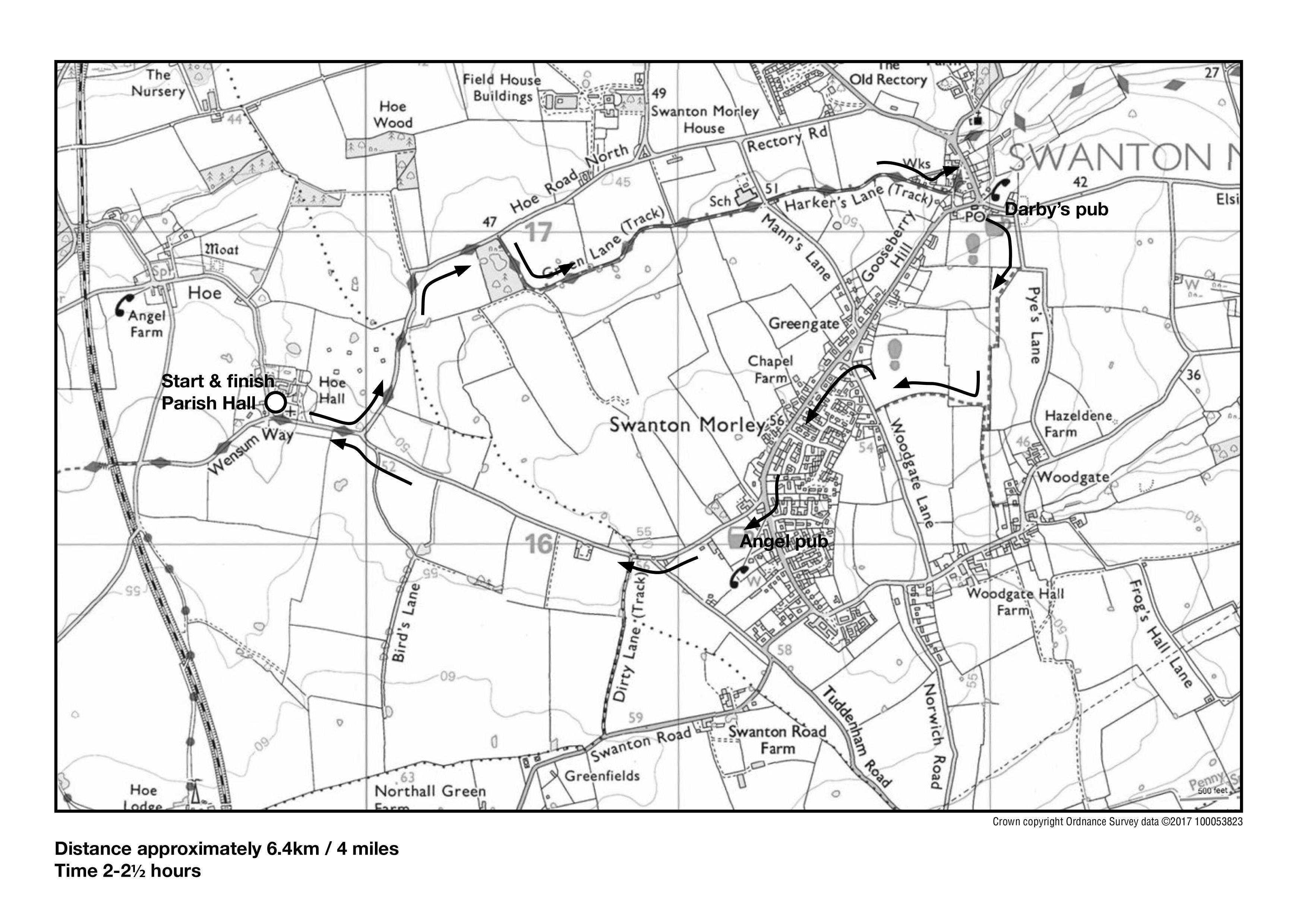 mar18 ramble map