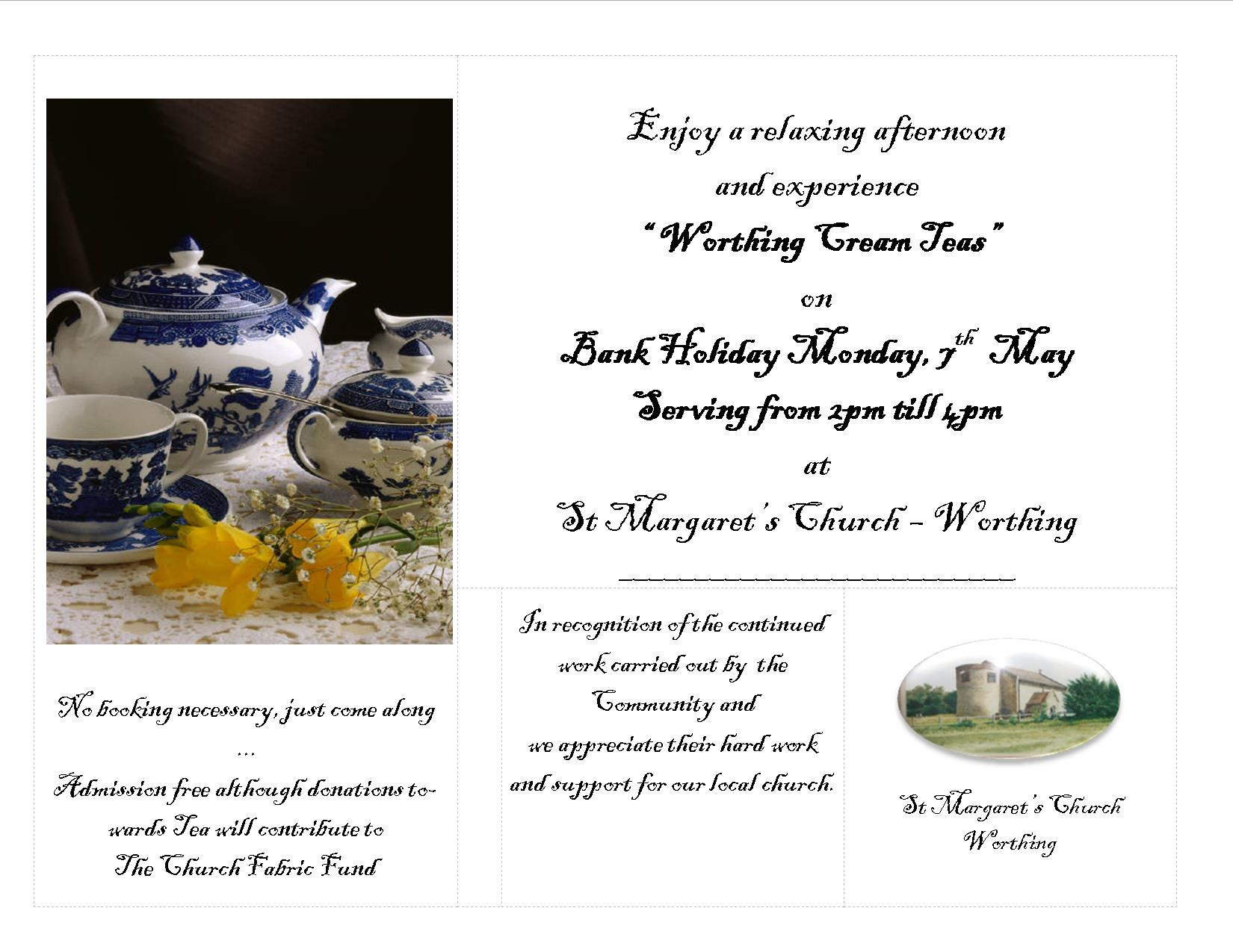 Worthing Church Cream Teas