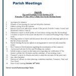 Hoe and Worthing May 2012 Agenda