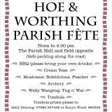 Hoe & Worthing Fete July 2018